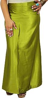 iba,印度缎丝绸衬裙,宝莱坞纯色内裙内衬,纱丽