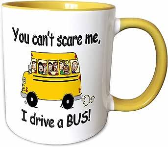 3dRose 马克杯 黄色/白色 15oz mug_157372_13