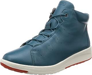 [ACILESSOLBO] 高帮 真皮 轻松 休闲运动鞋 ASC 3550 女式 3E ACILESSOLGO