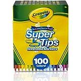 Crayola Super Tips Washable Markers-100/Pkg