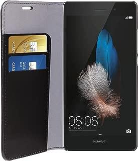 PHONIX HUP9 LBCB 环保皮革书籍保护套适用于华为 Ascend P9 Lite 黑色