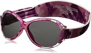baby banz 婴幼儿防紫外线太阳镜蛤蟆镜系列 复古迷彩粉红色 2-5岁