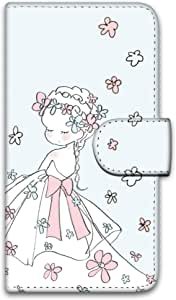 caho 保护套印花翻盖婚礼手机保护壳翻盖式适用于所有机型  ウェディングC 1_ iPhone8