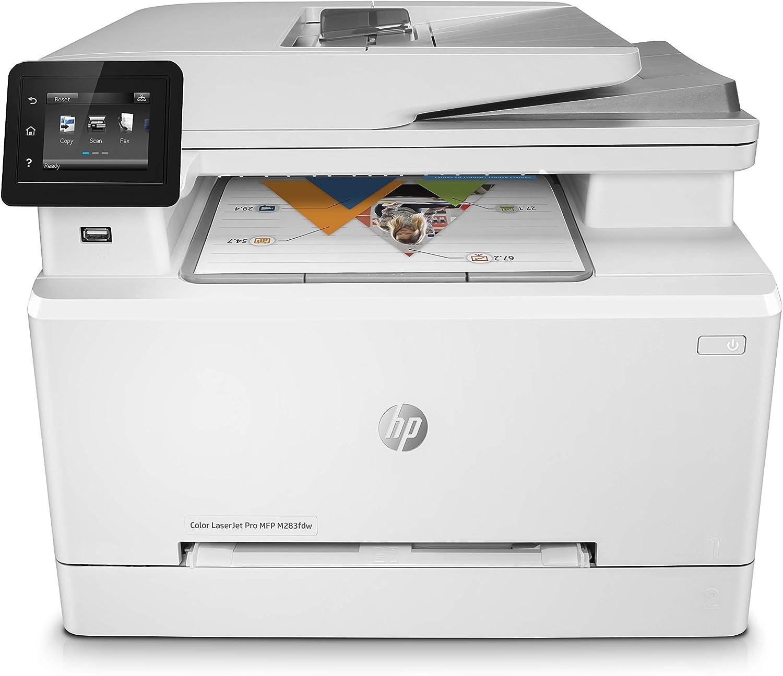 2249.73元 HP 惠普 M283fdw 彩色激光四合一打印一体机