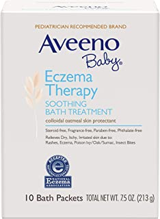 Aveeno Baby Aveeno 婴儿舒缓沐浴露,含天然燕麦。 10份 10