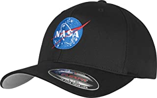 Mister Tee NASA 标志 Flexfit 棒球帽 黑色 有两种尺寸