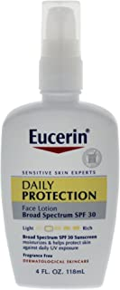 Eucerin 日常?;けJ娌咳?,SPF 30 4 Ounce (Pack of 2)