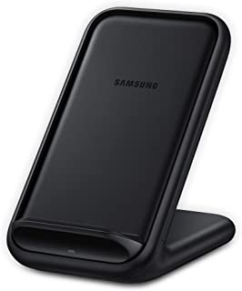 Samsung 15W Fast Charge 2.0 Wireless Charger Stand 自动 黑色EP-N5200TBEGUS  黑色