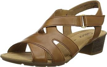 Gabor 女式休閑踝帶涼鞋