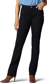 LEE 女式標志性常規直筒牛仔褲