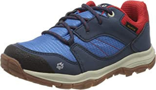 Jack Wolfskin 中性儿童 MTN Attack 3 Xt Texapore Low K 徒步鞋 Blau (Blue / Red 1195) 40 EU