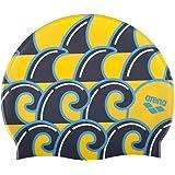 Arena Poolish II 泳帽 Wave Yellow