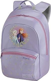 Samsonite 新秀丽 迪士尼Ultimate 2.0 儿童背包 S+,35厘米,10.5 L,蓝色 (Minnie Neon) Lila (Frozen Ii) S+