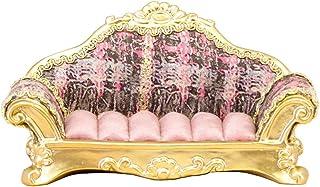 秋月贸易 古典 环支架 沙发 Pink W15×D6×H7cm QY3931-PK