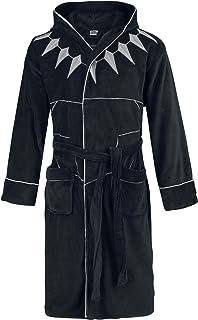 Marvel 黑豹羊毛连帽浴袍,涤纶,均码