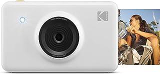 Kodak Mini Shot 即时打印数码相机 LCD 显示无蓝牙KOD-MSWNBT Non Bluetooth 白色