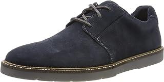Clarks 男士 Grandin平底德比鞋