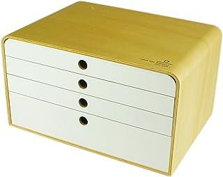 【小型文具盒】 A4FILE CASE 4层 N/Wh YK09-117-NWh