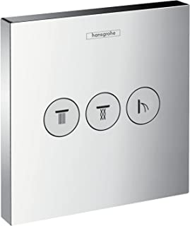 Hansgrohe 汉斯格雅ShowerSelect暗装3路分水器 镀铬