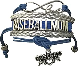 Infinity Collection Baseball Mom 手镯 - 棒球运动员妈妈
