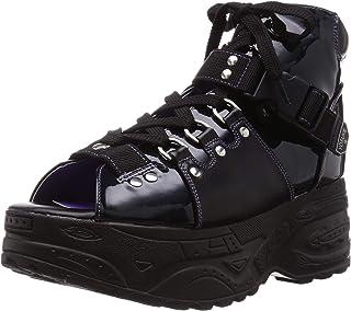 YOSK 厚底系带靴凉鞋 2818118 男士
