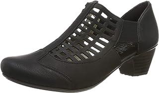 Rieker 41773-00 包头高跟鞋