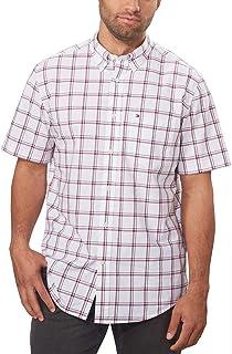 Tommy Hilfiger 湯米·希爾費格男式經典修身系扣格子襯衫