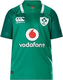 Ireland IRFU 2017/18 Kids Home Pro S/S Replica Rugby Shirt - Bosphorus