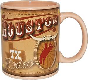 美国城市和州 311.84 毫升咖啡马克杯 Houston