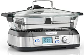 Cuisinart STM1000U Cookfresh 专业玻璃蒸锅,1800 W