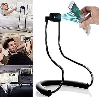 GoWith 磁性平板電腦和手機支架、通用手機支架、懶人支架,適用于桌子、床、汽車和自行車、可調節旋轉鵝頸支架,可靈活、可折疊和便攜式設計