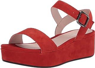 ECCO 女式平底踝带凉鞋