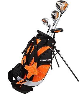 Precise XD-J 青少年全套高尔夫球杆套装 适合儿童儿童 - 3 岁 男孩和女孩 - 右手和左手!