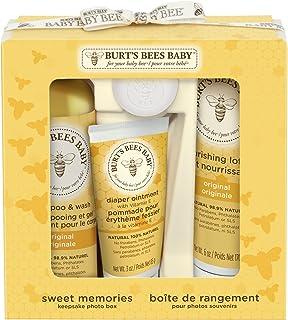 Burt's Bees Sweet Memories 婴儿护理套装,1件装(1 x 4支)