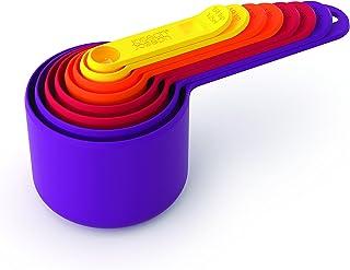 JOSEPH JOSEPH 8-piece 量杯和量勺套装 Nest 测量 多色
