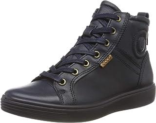 ECCO 爱步 中性 儿童 S7 少年高帮运动鞋