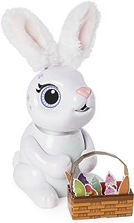 Zoomer 饥饿兔子,咀嚼,互动机器人食兔,适合 5 岁及以上儿童