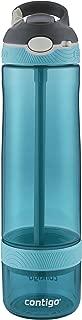 Contigo 康迪克 戶外大容量帶吸管水瓶,26盎司(770毫升),水藍色