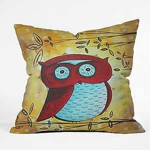 DENY Designs Madart Peekaboo Throw Pillow