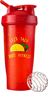 BlenderBottle Just for Fun Classic 28盎司摇杯 Let's Taco 'Bout Fitness 28 盎司