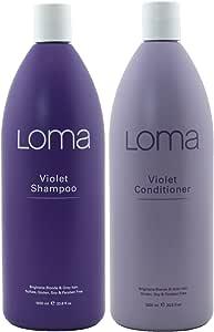 Loma Hair Care 紫罗兰洗发水和紫罗兰护发素双装