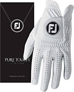 FootJoy Pure Touch Limited Edition Men's Golf Glove Left (Fits on Left Hand) - L