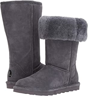 BEARPAW 女士高筒绒面皮靴 - NeverWet Stain Liquid Repellent - Elle by