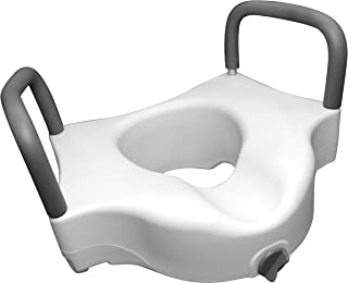 Danny's World Home Health Quality DME 耐用*产品 - 手杖 - 浴台 - 滚筒-*轨道 - 马桶座 Danny's World Elevated Toilet Seat with Arms 1
