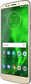 moto G6 play 智能手机(HD 显示屏 14.47厘米(5.7英寸),13万像素摄像头带摄像头,Qualcomm ,Qualcomm ,43,Android 8.0 Oreo),32 GB 金色