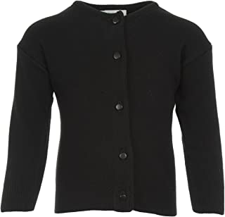 Julius Berger 黑色棉质羊绒女孩开衫