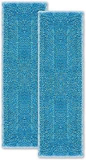 Moppy PAEU0342 Polti 套装 包括 2 块超细纤维清洁布 适用于蒸汽拖把 蓝色