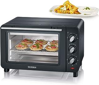 SEVERIN TO 2064 迷你烤箱/33.0 厘米/烹饪空间容量:14 升/黑色/银色