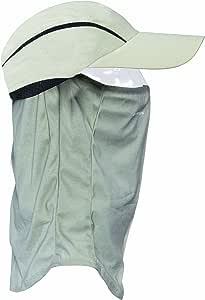 Seirus Innovation 3701 Shanty Quick Shade 豪华帽,内置拉下式面部和颈部保护 - 可调节,合身