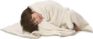 Baby Deedee 毛毯男女皆宜,超大奢華幼童毯,象牙色 119.38 cm x 119.38 cm